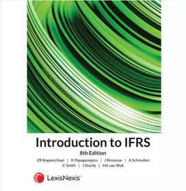 Textbook : Introduction to IFRS, Koppeschaar, 8th Edition