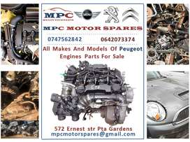 ALL MAKES AND MODELS OF PEUGEOT ENGINES  FOR SALE
