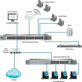 Wifi router installations - Lan cable installations - Wifi extending
