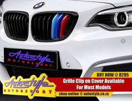 Suitable to fit BMW M3 etc kidney grille covers, 3 colors, non genuine