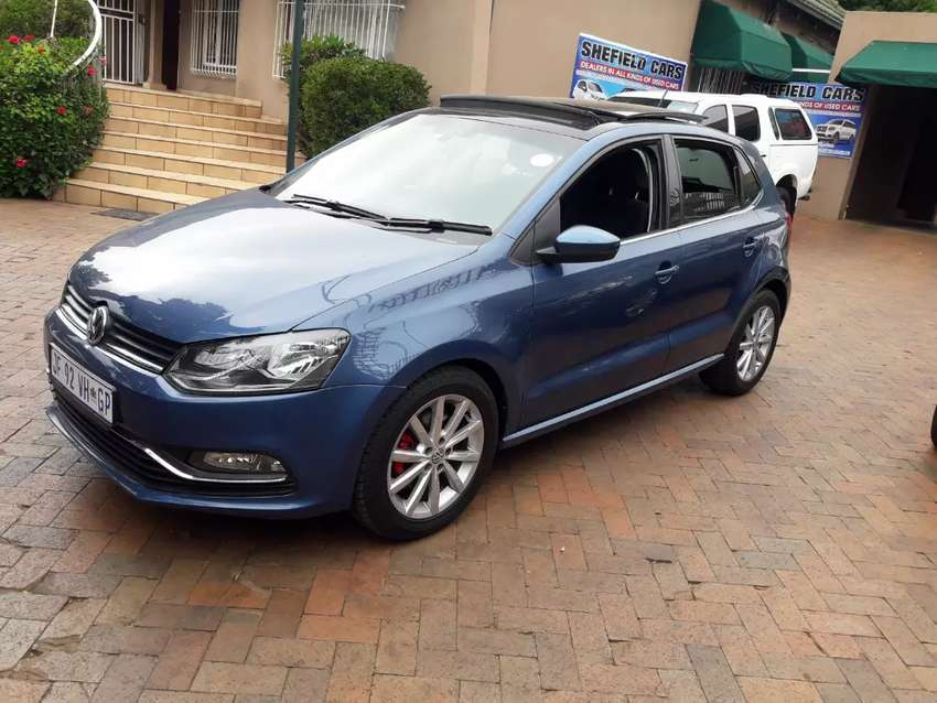 2017 vw polo 1.2 tsi highline dsg for sale 0