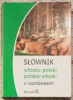 Słowniki z rozmówkami: polsko-włoski i polsko-hiszpański