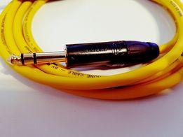 Kabel Klotz MY206 duży jack/duży jack stereo 1M Roxtone