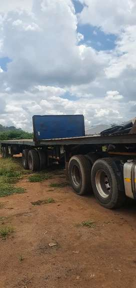 Flatdeck Superlink trailer for sale