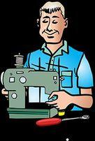 Ремонт швейных машин,оверлоков и др.швейного оборудования