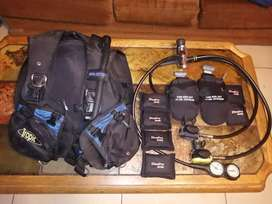Scuba BCD and Regulator for sales