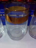 Набор стаканов из чешского стекла Bohemia