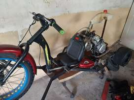 Drift trike unfinished project to sell or swop