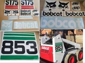 Bobcat decals / vinyl cut sticker kits