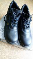 Испанские сапоги кожаные спец обувь