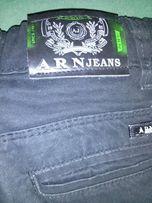 Продам детские штаны(джинсы) черные хлопок, новые