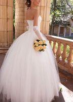 Платье свадебное(44р)+туфли(36р)