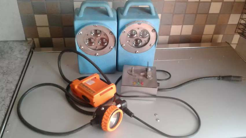 Rechargable fishing or camping lamps