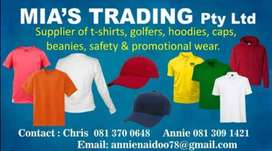 Reseller of uniform with branding and embroidery if required