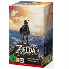 Nintendo Switch - Legend of Zelda Breath of the Wild Limited Edition