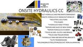 ONSITE HYDRAULIC AND PNEUMATIC SERVICES,REPAIRS ,INSTALLATION AND SALE