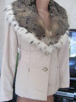 Зимняя меховая куртка пихора на подстежке из кролика. Из дорогих