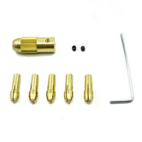 Цанговый патрон + 5 цанг 0,5-3мм цанга электро дрель мини Черкассы - изображение 5
