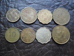 Коллекция монет Гонг-Конг, Украина, Россия, Германия, Н.Зеландия
