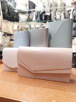 Nowa kopertówka mała torebka na wesele komunię wizytowa lakier lub mat