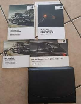 BMW Owners manual X5 2015