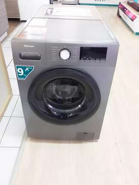 Hisense 9Kg front loader with steam care