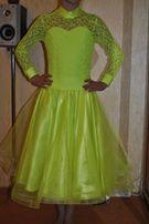 Новое рейтинговое платье для бальных танцев стандарт