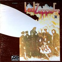 Led Zeppelin II, 1977 US винил диск пластинка альбом