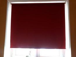 Roleta Okienna Czerwona 147 cm