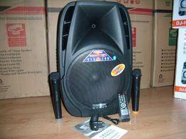 Blueooth Колонка чемодан TEMEISHENG S с МР3 micro SD,USB,FM+2 радио ми