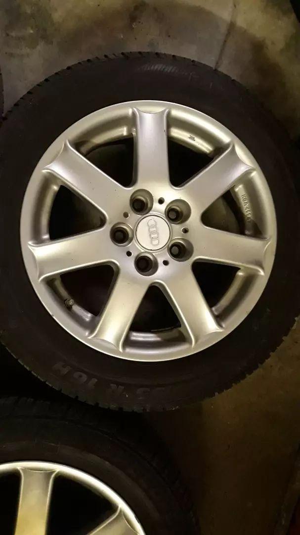 """Alu Audi 16"""" 5x112 střed 57,1 0"""