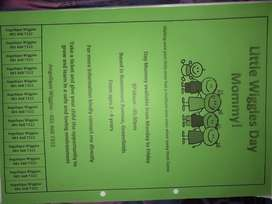 Offer simple education,tasks,writing,reading etc ages from 2,5