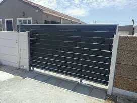 Wooden and nutec gates
