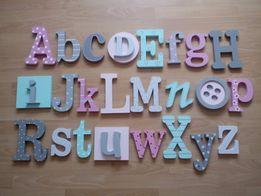 Alfabet ozdobny do samodzielnego pomalowania