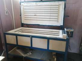 Glass Fusing Kiln Oven and accessories.