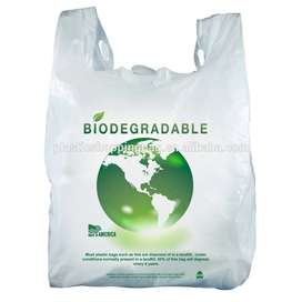 Biodegradable plastics,Shopping,Grocery bags and Garbage bags