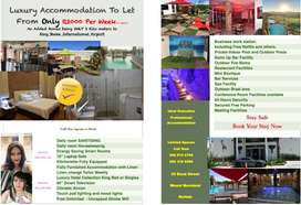 Self catering rooms to let long or short term