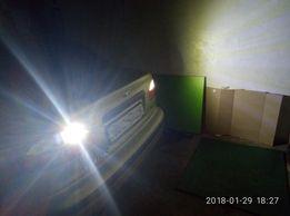 Сверхъяркая светодиодная LED лампа 10W задний ход P21W BA15S ГАРАНТИЯ!