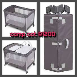 Joie camp cot