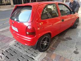 Clean Opel corsa lite with Sunroof, Black leather seats