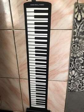 61 keys silicon foldable roll up Piano