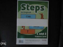 Steps 1&2 grammar cards - NOWE