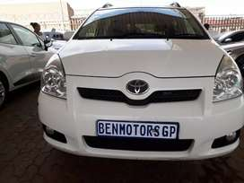 For Sale 2008 Toyota Verso,Engine1.48Tx,Manual,91000km