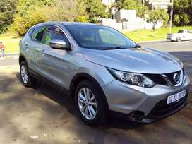 2016 Nissan Qashqai 1.2 leather seat Automatic