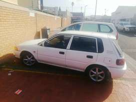 1.3 Toyota tazz for sale 38k or swap with a polo playa