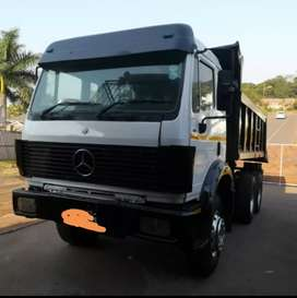 Mercedes Benz 2628 10 cube tipper