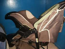 chelino 3 wheel stroller with car seat