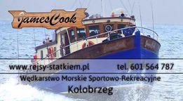 Rejs wędkarski na dorsze po Bałtyku - JAMES COOK Kołobrzeg
