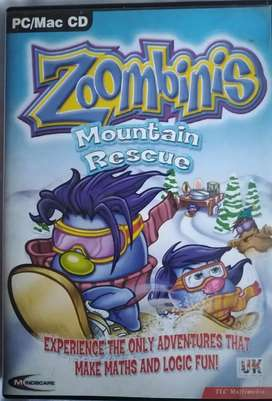 Zoombinis Mountain Rescue Children Math Game PC CD