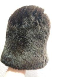 Вязаная шапка из шиншиллы